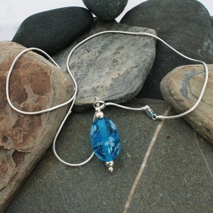 Memorial Glass Bead Pendant