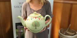 Scattering Ashes Teapot
