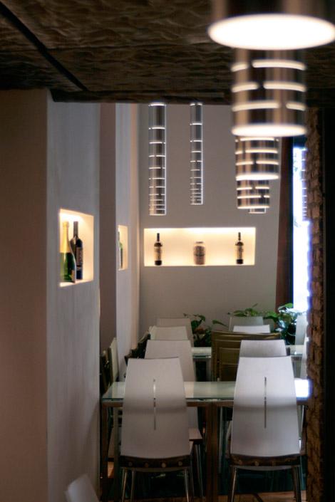 Larchitettura del Glass Hostaria  di Andrea Lupacchini