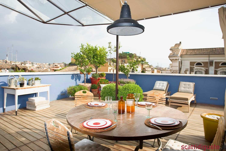 Orto urbano Larchitetto in terrazza Slow Food Grow the Planet BBQ