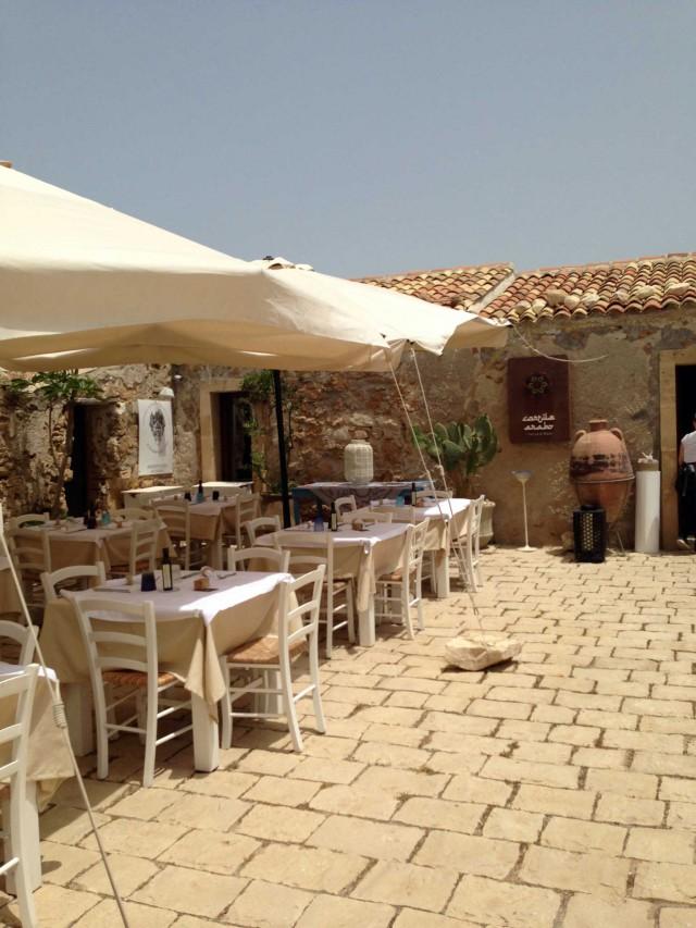 Marzamemi Sapori di Sicilia al Cortile Arabo Osteria di Mare