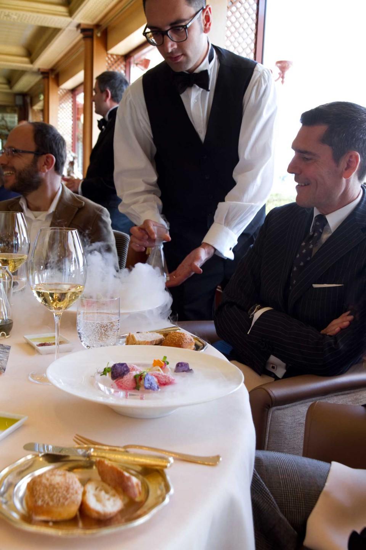 Heinz Beck festeggia il ristorante La Pergola con un menu