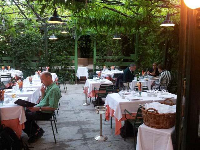 Ristoranti Milano 20 tavole con giardino per mangiare all