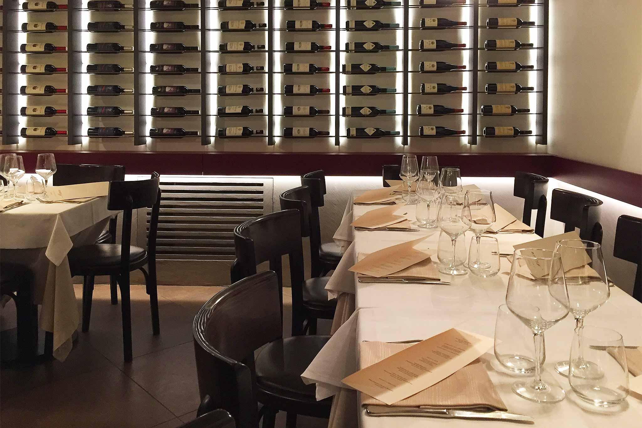 Roma Il menu dei 100 anni del ristorante Il Falchetto a