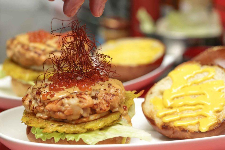 Hamburger Da 12 Morsi a Napoli il nuovo panino dello chef di Jap One