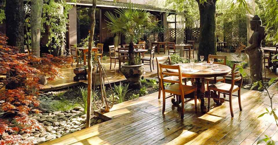 Milano La pausa pranzo nel giardino zen di Shambala