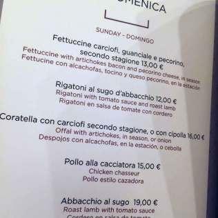 Felice a Testaccio a Milano com cosa si mangia quanto si spende