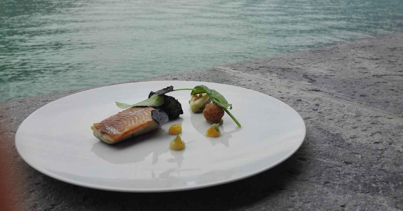 Lago di Como Lestate inizia con la cena di Andrea Berton