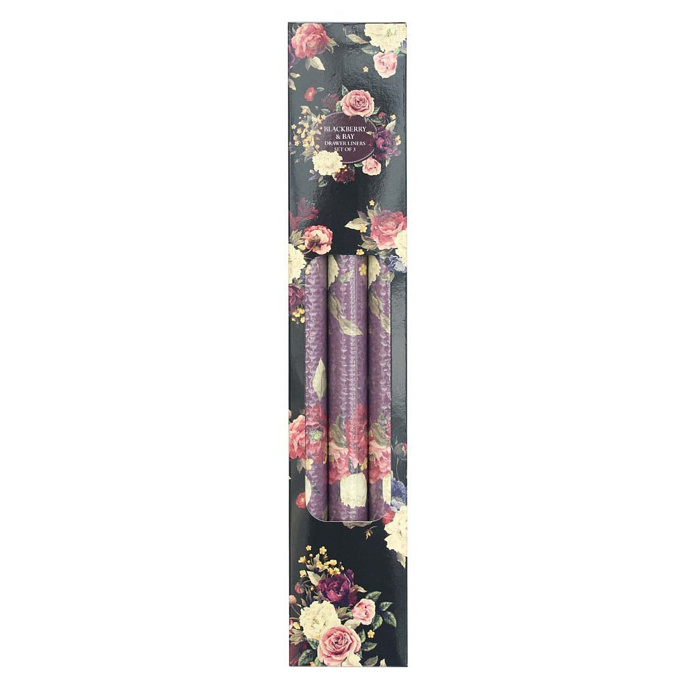 Blackberry Scented Drawer Liners Paper