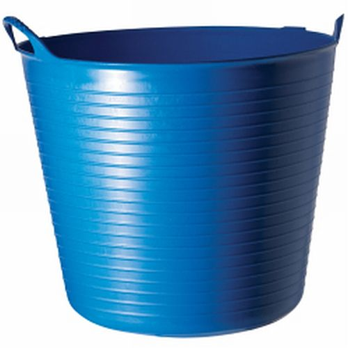 Blue Plastic Storage Tub Box