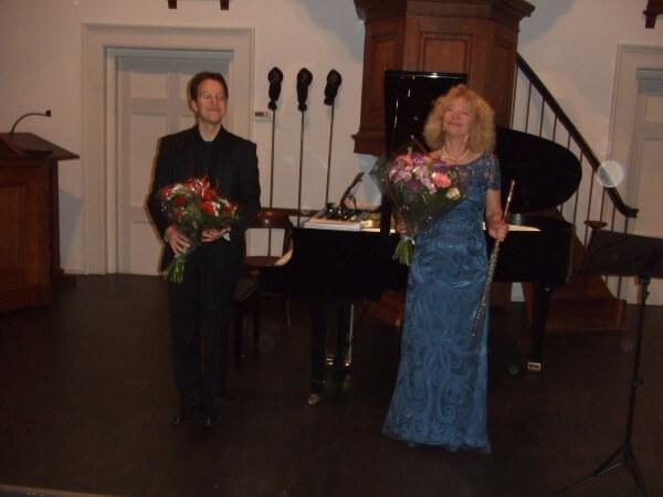 Eleonore Pameijer; Meesterlijk fluitspel met stormachtige begeleiding