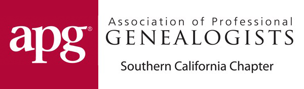 Association of Professional Genealogists - Southern California Chapter