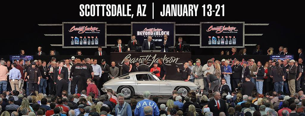 BarrettJackson Collector Car Auction Sports Collector Car - Scottsdale car show today