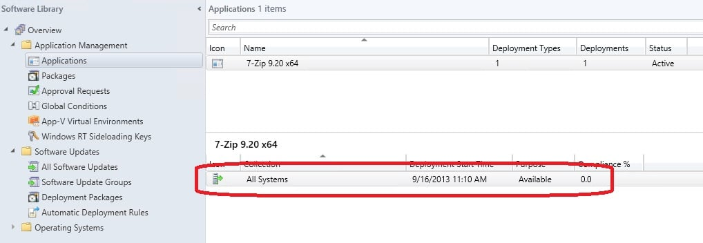 Remove all Deployments for an Application in ConfigMgr 2012
