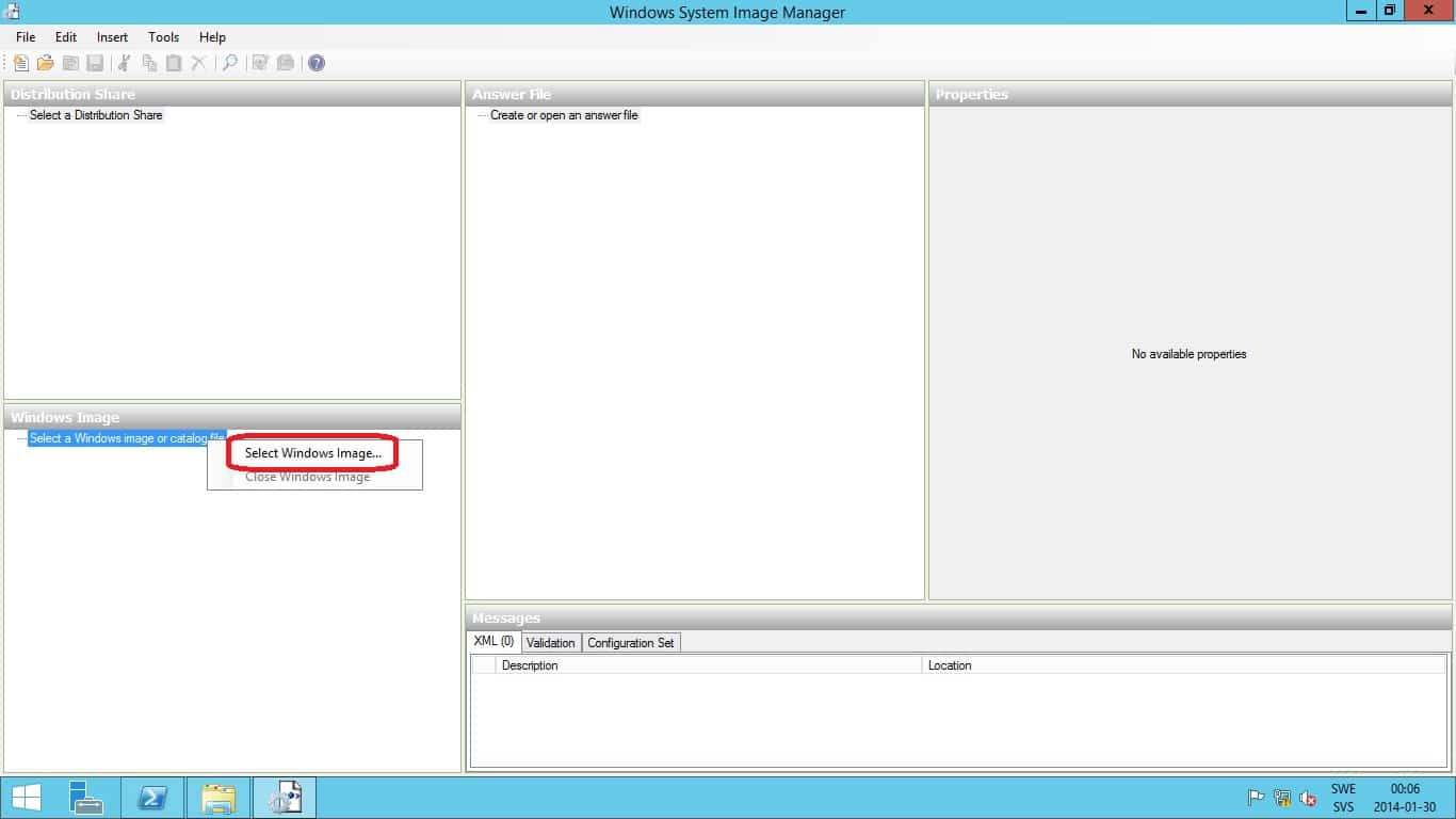 Create an Answer File for Language settings during OSD with