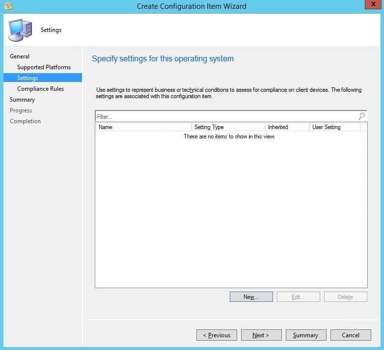 SCCM Client Cache Maintenance – Configuration Baseline | | System
