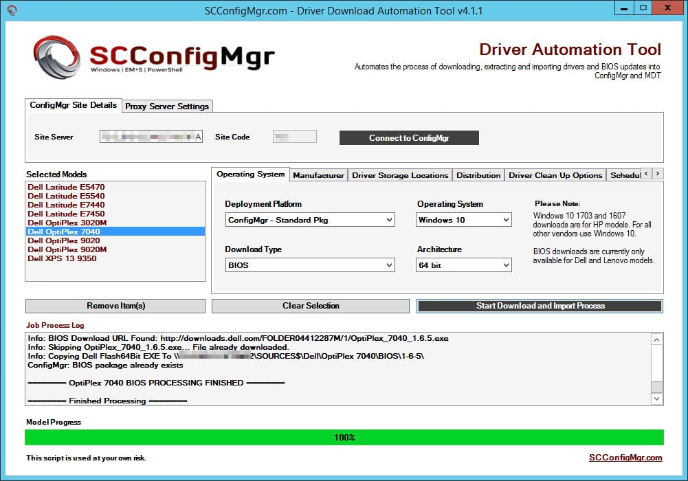 Driver Automation Tool System Center Configmgr Autos Post