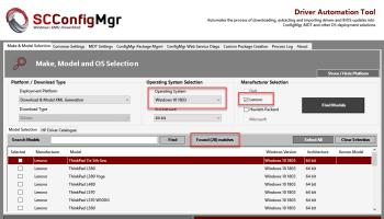 Lenovo Driver Automation Tool | | System Center ConfigMgr