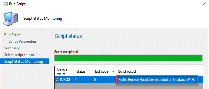 How to create WiFi profiles with ConfigMgr run-scripts | | System