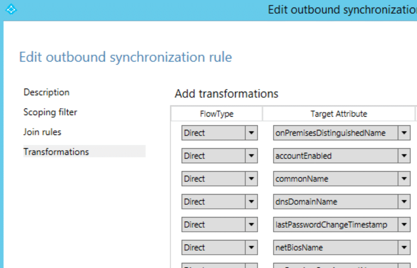 Skip syncing specific Windows versions with Azure AD Connect