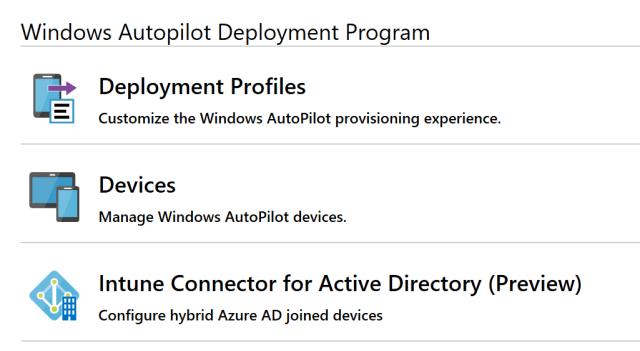 Hybrid Azure AD join Windows Autopilot devices using