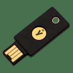 image of yubikey 5 nfc FIDO2 key