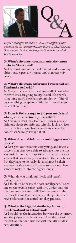 Strumpfer Q&A