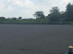 The Japanese playing fields are dirt, as the players practice around 30 hours a week, double Jakobs's weekly practice total.