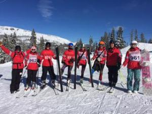 """The conditions were """"cold"""" and """"sunny but perfect"""" for the Cavs' first giant slalom race, according to coach Jason Kreps."""