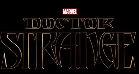 "The ""Doctor Strange"" logo."