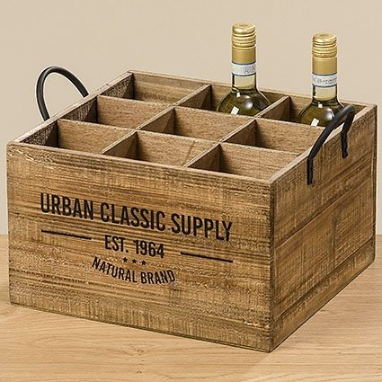 casse da vino in legno