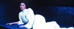 Le Call to adventure (ou incident déclencheur) est l'appel à l'aide de la princesse Leia