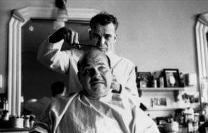 Ed Crane, le personnage principal de The Barber des frères Cohen