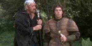 Merlin, précepteur et guide spirituel d'Arthur
