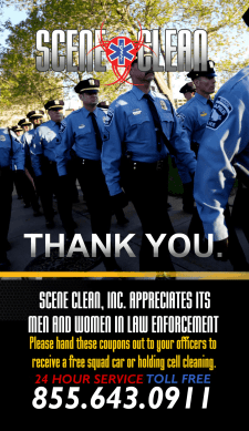 Free Squad Car Cleanup MN