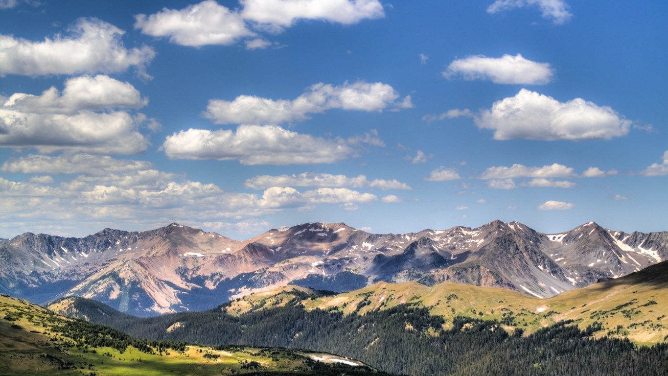 Fall Mountaons In The Sun Wallpaper Scenic Guides Wallpapers Rmnp
