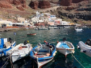 Touring Greece, Planning a trip to Greece, Fishing boats in Greece