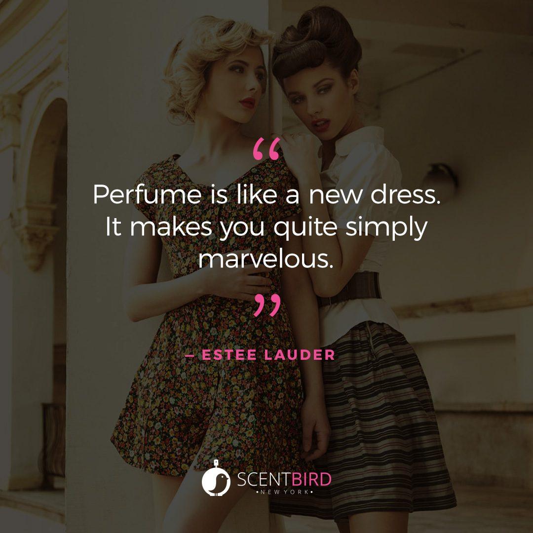 Estee Lauder Quote on Perfume