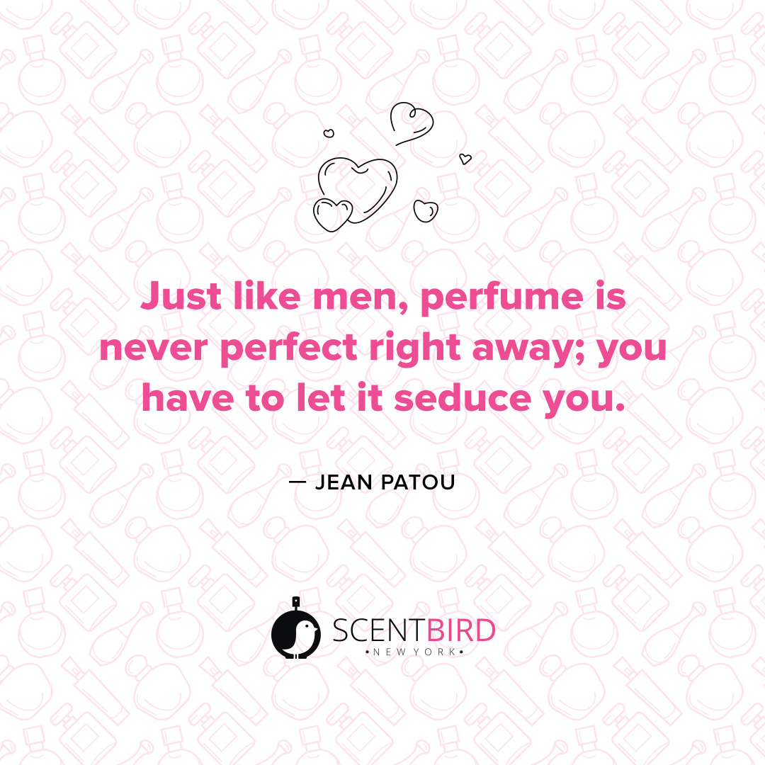 Jean Patou Quote on Perfume