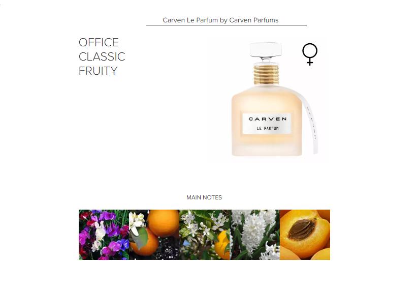 Carven Le Parfum by Carven Parfums