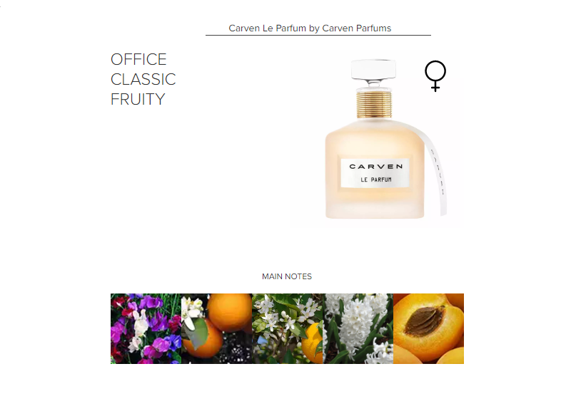 Carven Le Parfum by Carven Parfums