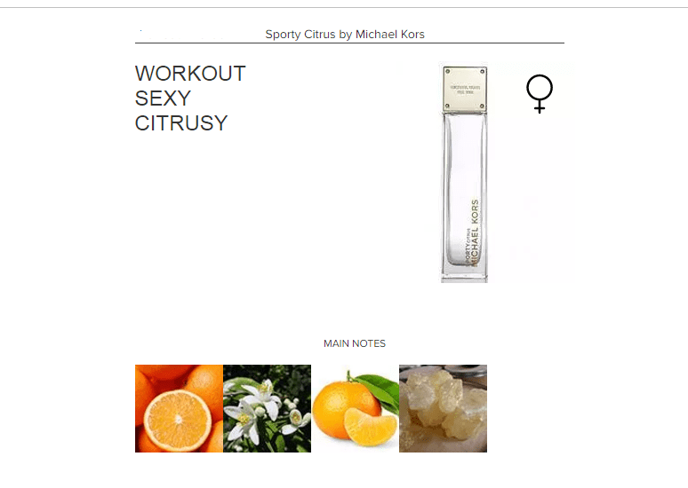 Sporty Citrus by Michael Kors