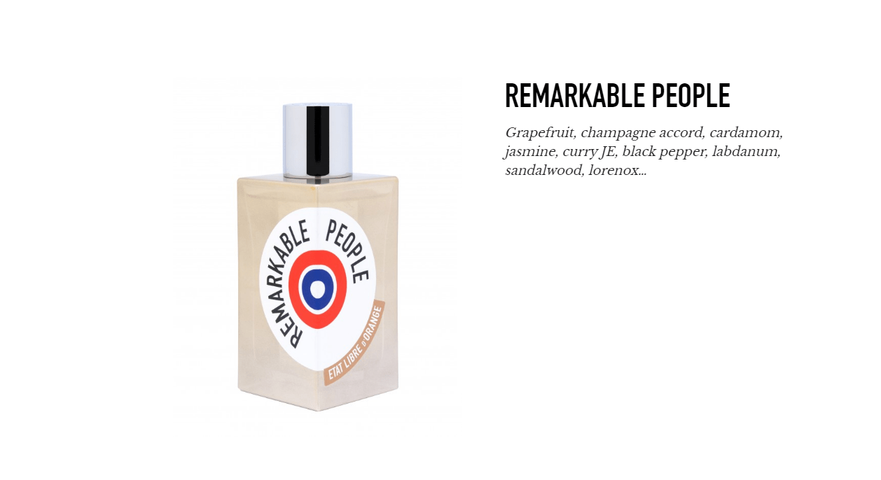 New on Scentbird: Remarkable People by Etat Libre d`Orange