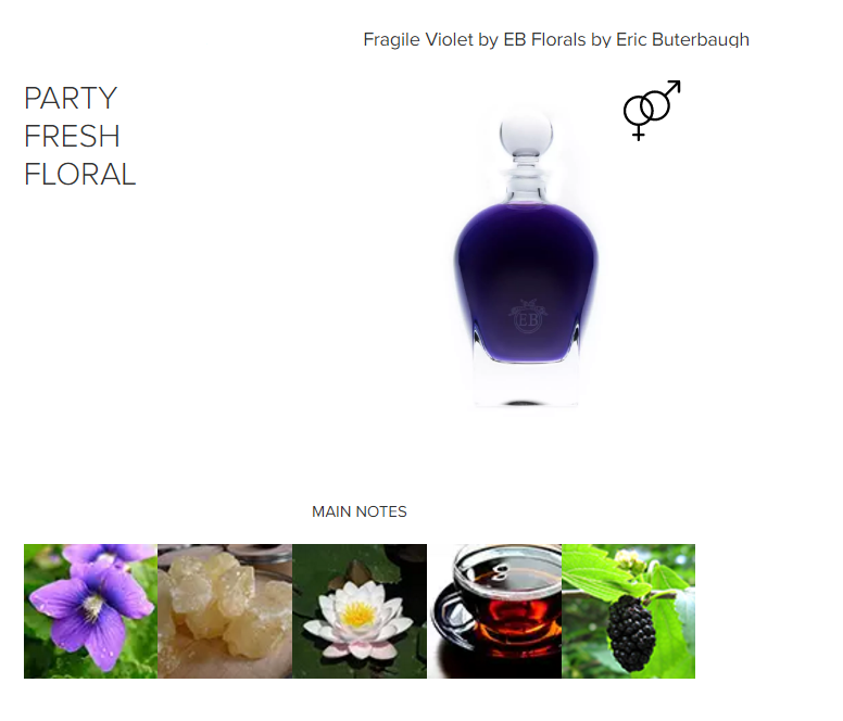 Fragile Violet By Eb Florals By Eric Buterbaugh