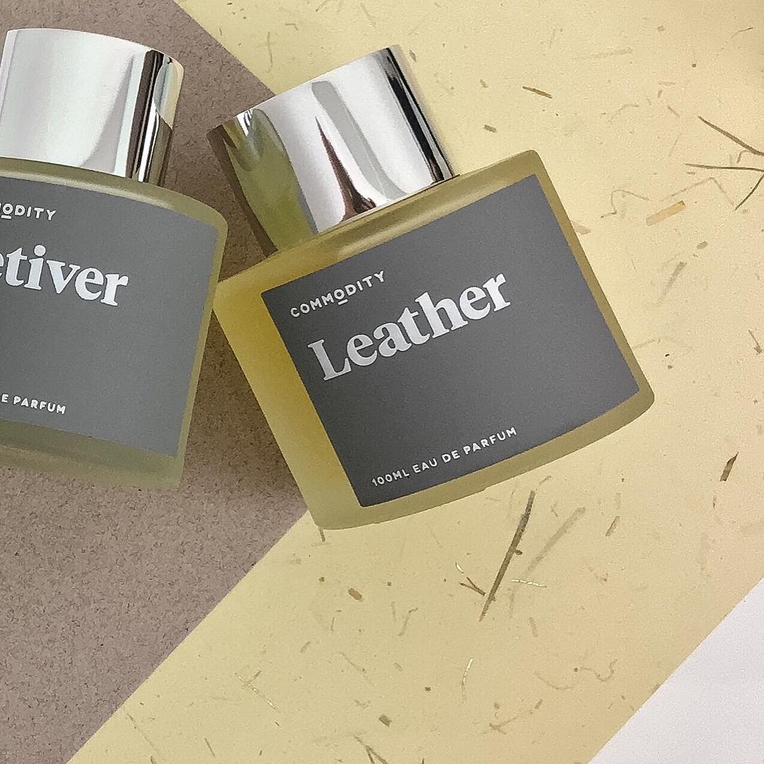 Intoxicating Unisex Fragrance: Platinum Leather by Commodity
