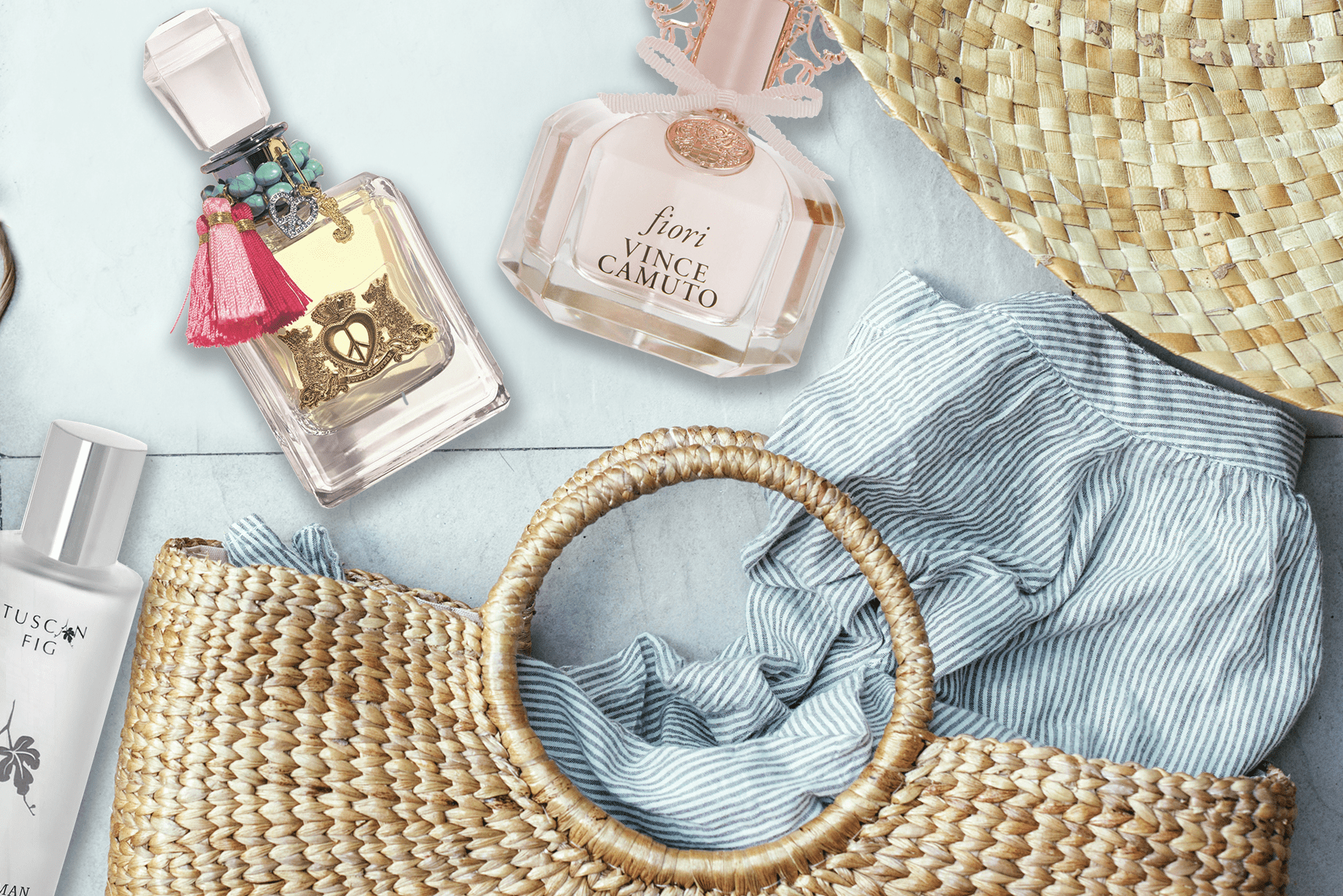 Make Perfume Your Number One Beach Accessory