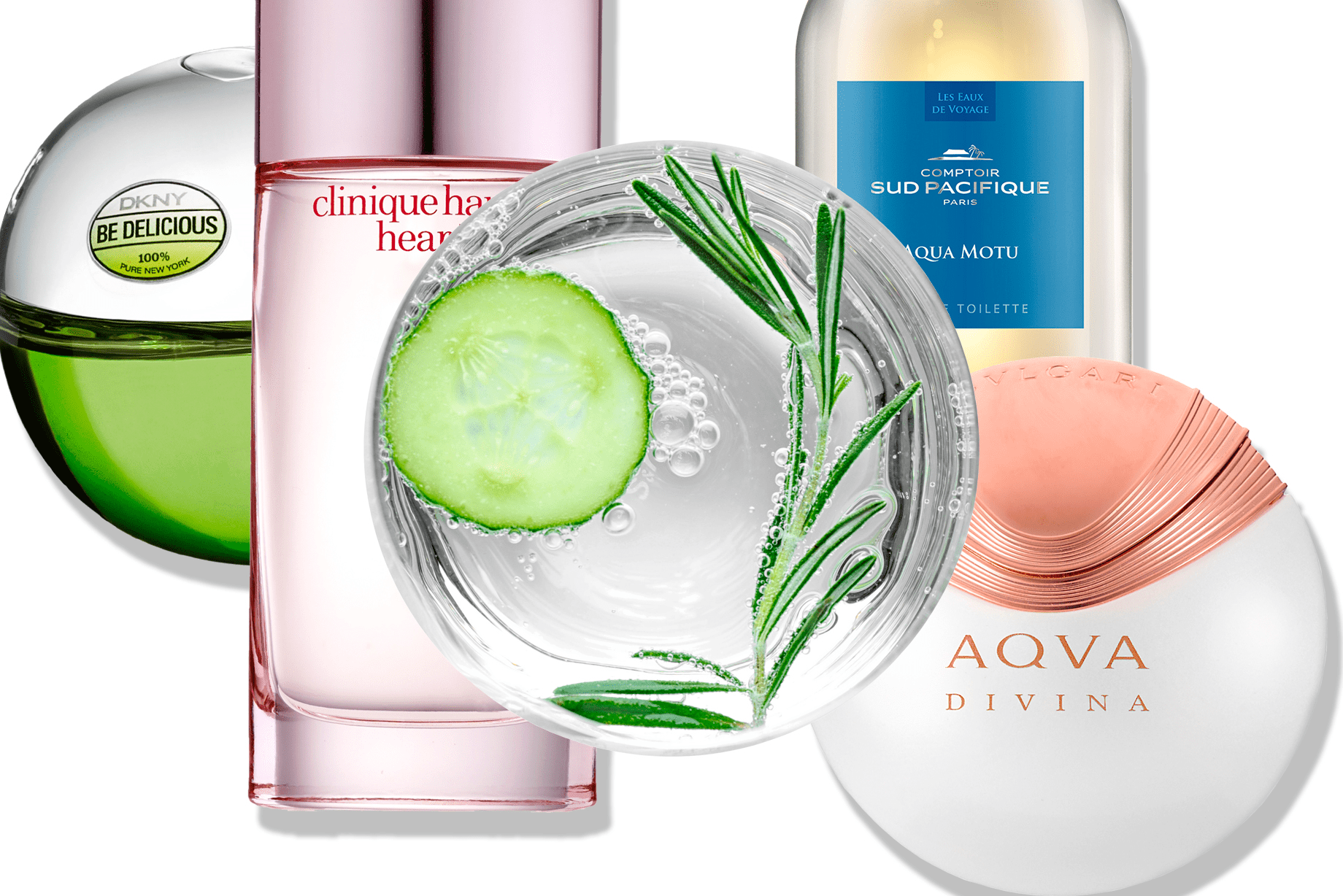 Summer Perfume Trend: Cucumber and Sea Notes
