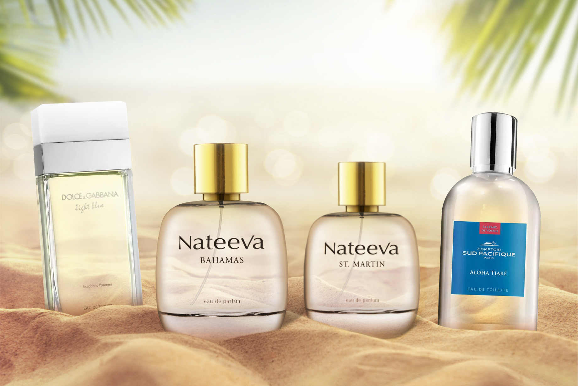 Beach Bound: 4 Perfumes Perfect For Summer