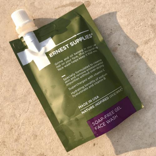 Ernest Supplies Soap Free Gel Face Wash1
