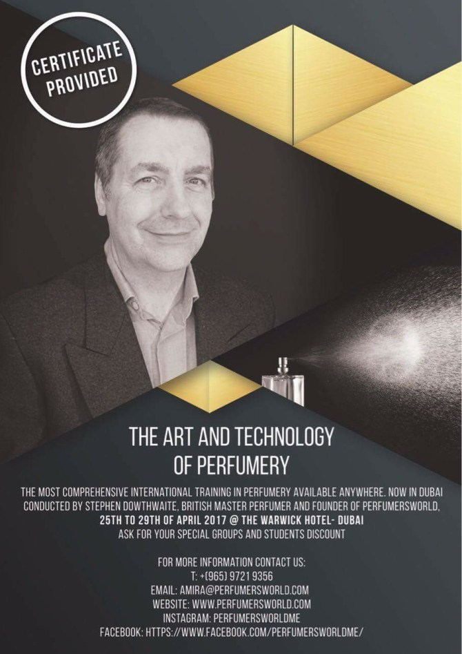 Perfumer's World - The Art and Technology of Perfumery Certificate